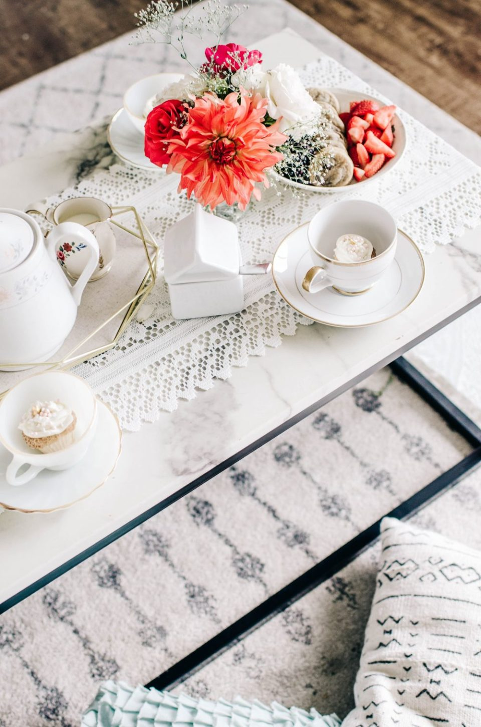 High Tea Themed Second Birthday Party Idea | Party Decor Ideas and Inspiration