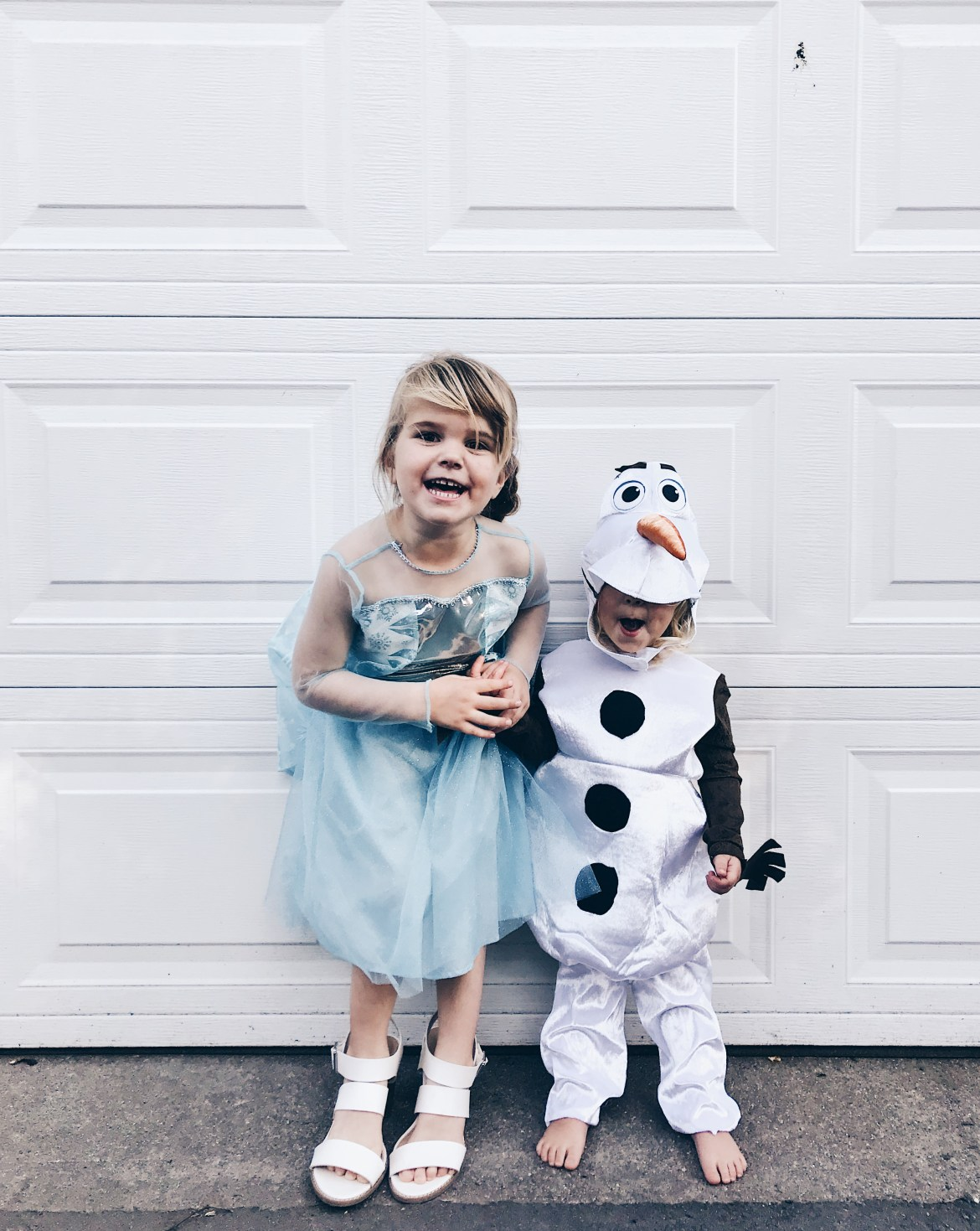 Elsa and Olaf Sibling Halloween Costume
