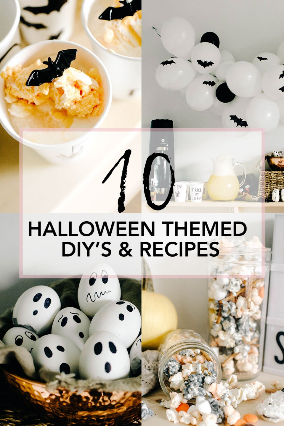 10 Simple Halloween Decor Ideas, DIY Crafts & Recipes