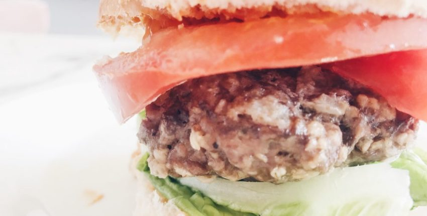 Simple and easy hamburger patty recipe