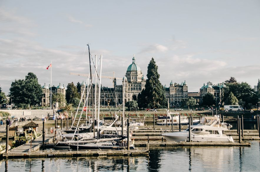 Parliament Building view from Milestones Restaurant in Victoria | 10 Things to do in Victoira BC