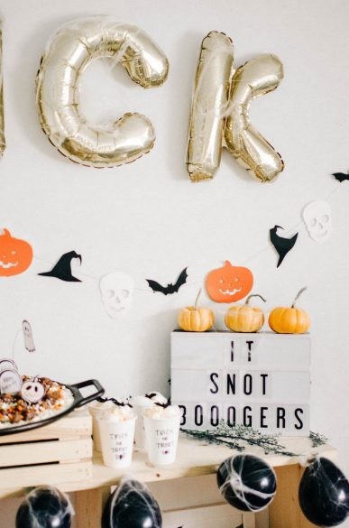 Kids Halloween Table Party Decor Inspiration