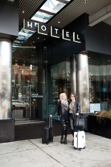Blue Horizon Hotel on Robson Street Vancouver