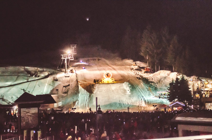 Things to do In Whister with Kids | Fire and Ice from Show Pan Pacific Whistler Hotel