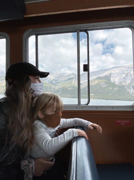 Lake Minnewanka Boat Cruise with the kids | Banff Family Tours