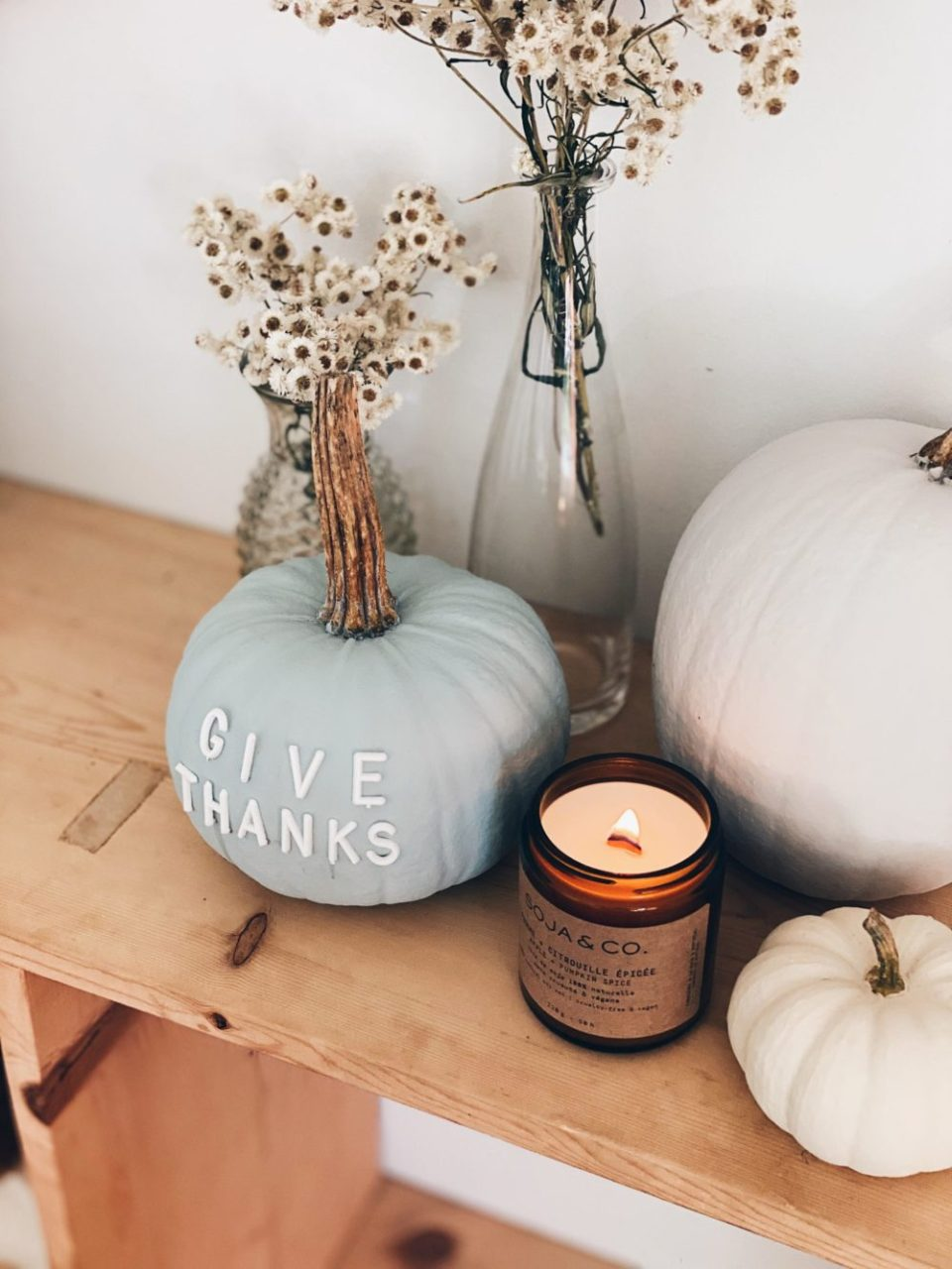 Easy DIY and Thanksgiving Home Decor Ideas