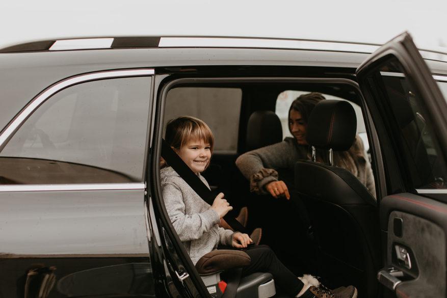 Mercedes-Benz GLB SUV family day trip