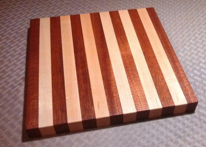 Mahogany - Maple Small Cutting Board