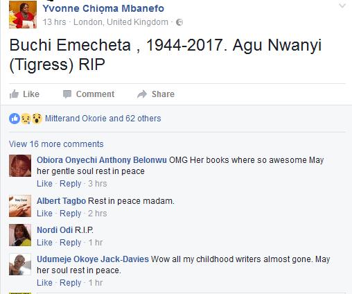 Yvonne Chioma Mbanefo