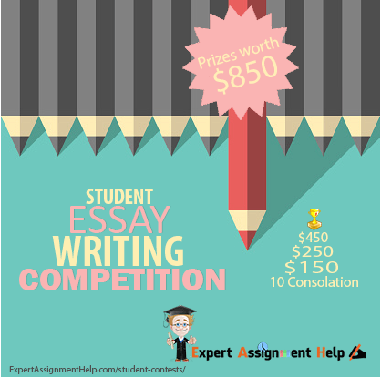 win 850 in the 2017 student essay writing competition