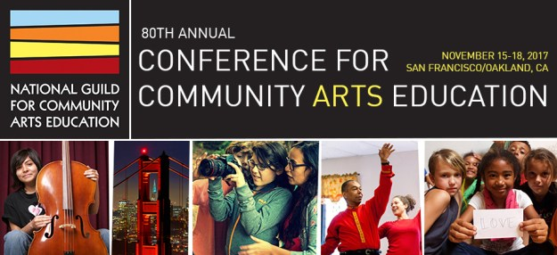 National Guild for Community Arts Education 2017 conference graphic