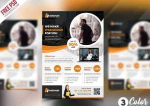 Free Corporate Flyer PSD Template Set