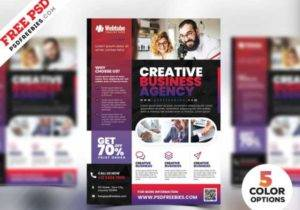 Multipurpose Business Flyer Free PSD Templates