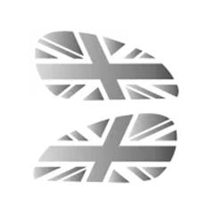 Pads de réservoir «Union Jack» pour Royal Enfield Interceptor 650