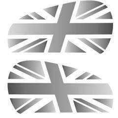 Pad sticker de réservoir Union Jack Triumph Thruxton