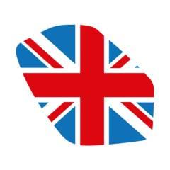 Sticker de phare «Union Jack» Couleurs pour Triumph Speed / Street Triple 2011-2015