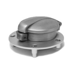 Bouchon de réservoir Monza aluminium brossé avec adaptateur pour YAMAHA XSR/MT