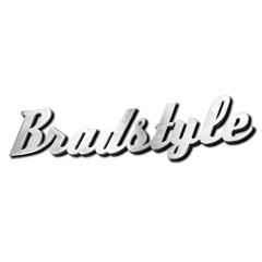 Mot «BRADSTYLE» découpé en aluminium