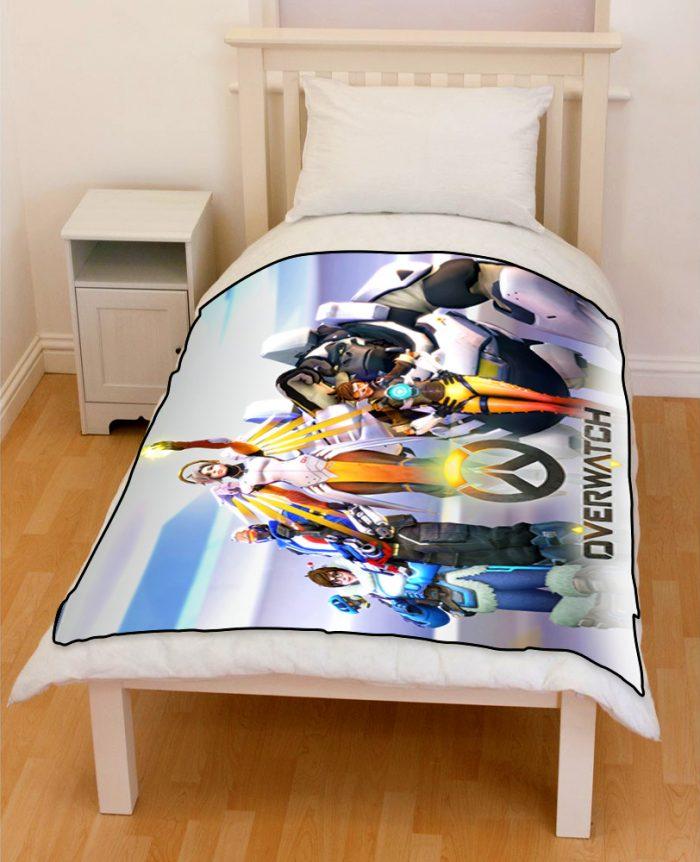 Overwatch Bedding Throw Fleece Blanket  CreativGoods