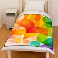 Abstract Background Design Bedding Throw Fleece Blanket ...