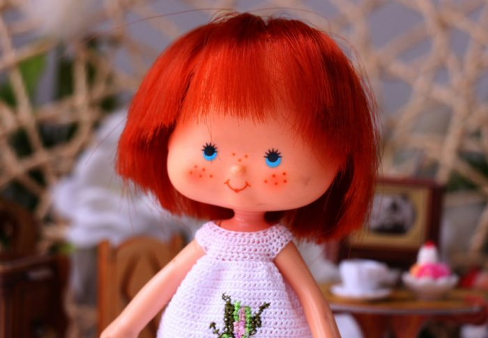 Strawberry doll from Canada!