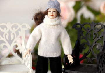 Heidi Ott dolls – Black and White combination