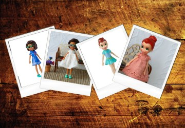 Polly pocket mini dolls