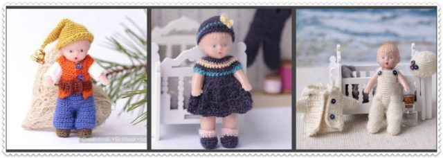 """<img src=""""knitted dress for mini dolls """" alt=""""miniature doll dress"""">"""
