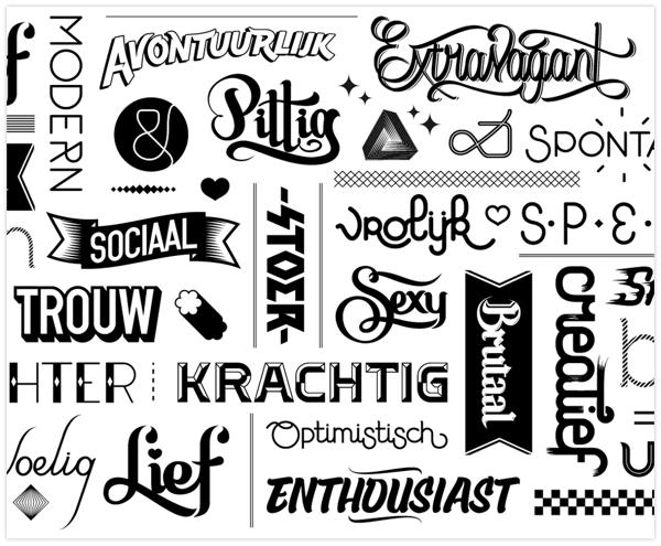 ford ka typografy