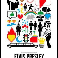 Tributo gráfico a Elvis Presley