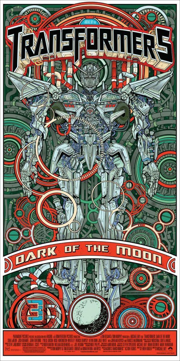 Posters de película ilustrados