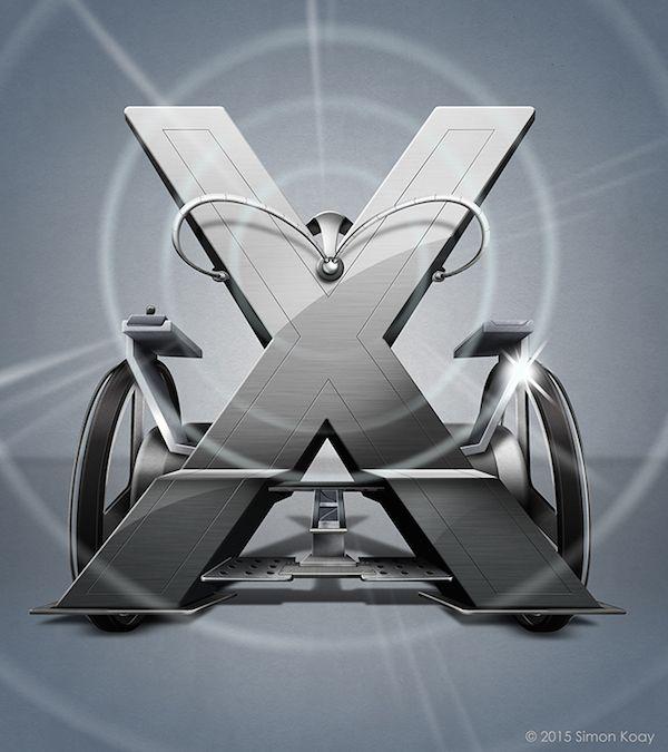 alfabeto-inspirado-superheroes-asombroso-X