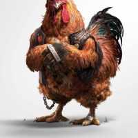 """Unos pollos """"sucios"""""""