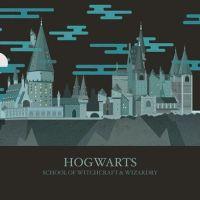 Los lugares mágicos de Harry Potter, con ilustraciones animadas