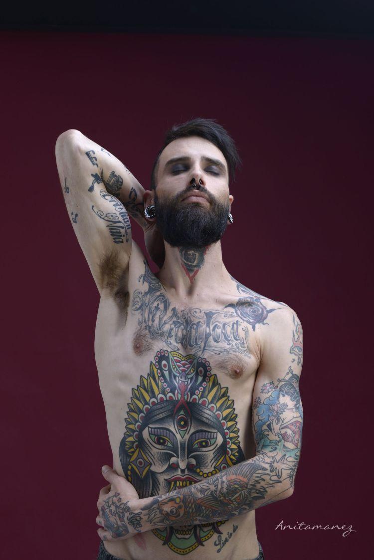 Foto: Ana Mañez Modelo: Esteban Torres