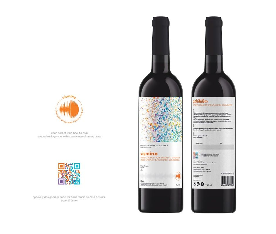 packaging vismino color musica