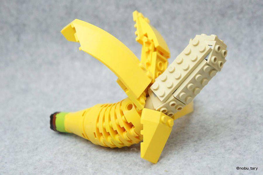 platano comida lego japon