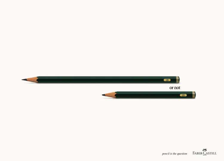 to be or not to be faber castell