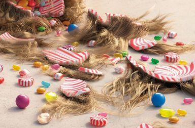 creatividad caramelos
