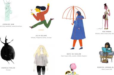 mujeres que ilustran