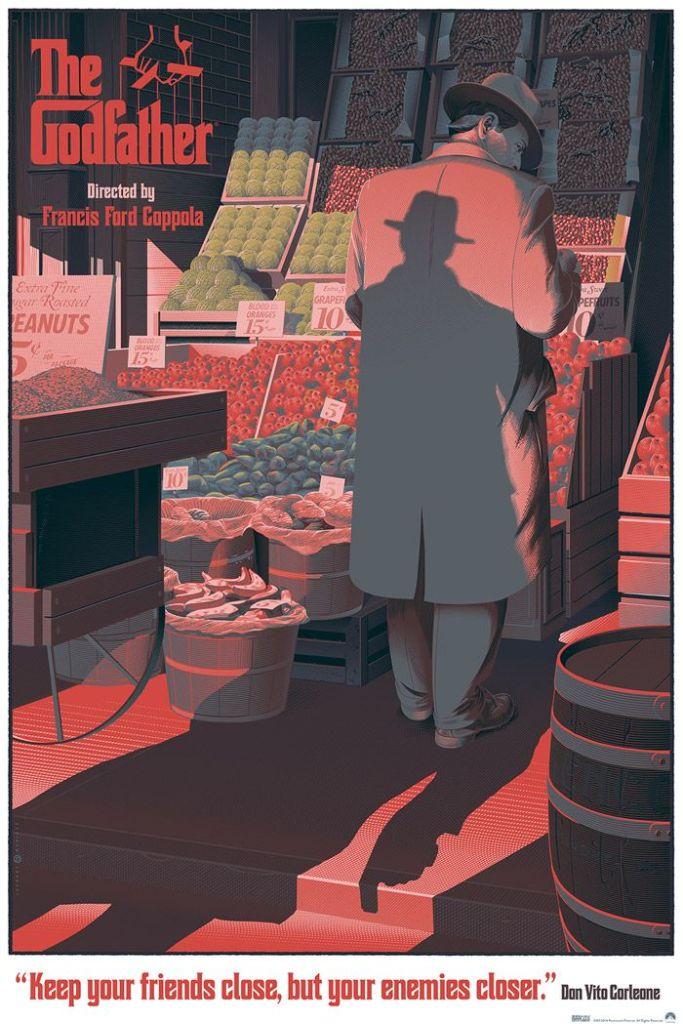 cartel cine retro futurista