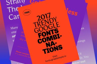 combinacion tipografica perfecta google font