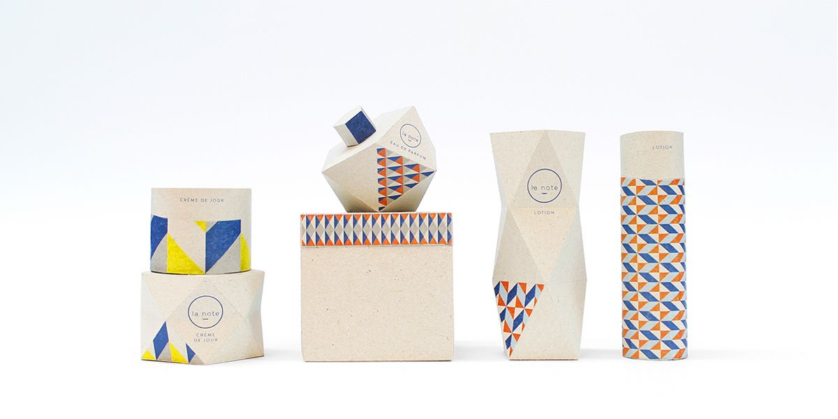 packaging geometrico