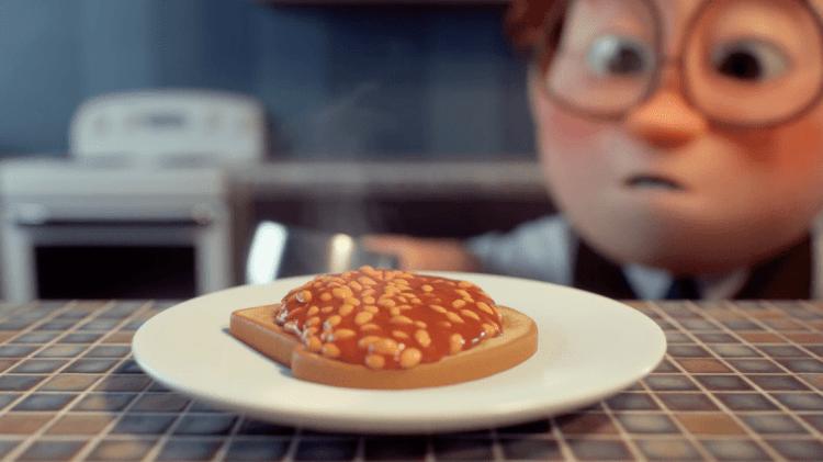 spot heonz animado con estilo pixar
