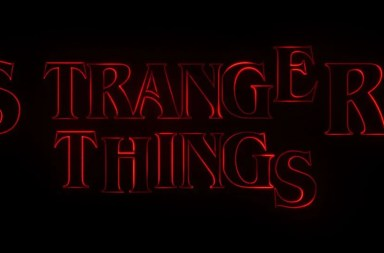 Stranger Things titulos de crédito