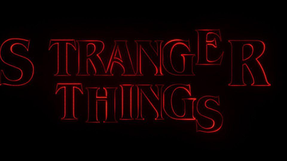 Stranger Things titulos de crédito