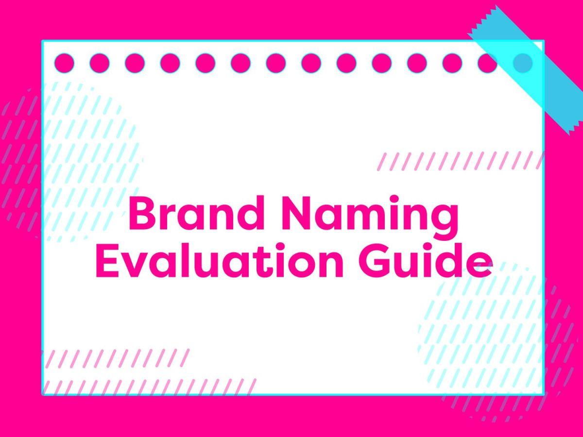 Pasos para elegir un nombre de marca efectivo
