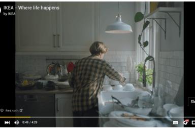 el anuncio mas aburrido de ikea en creatividad en blanco