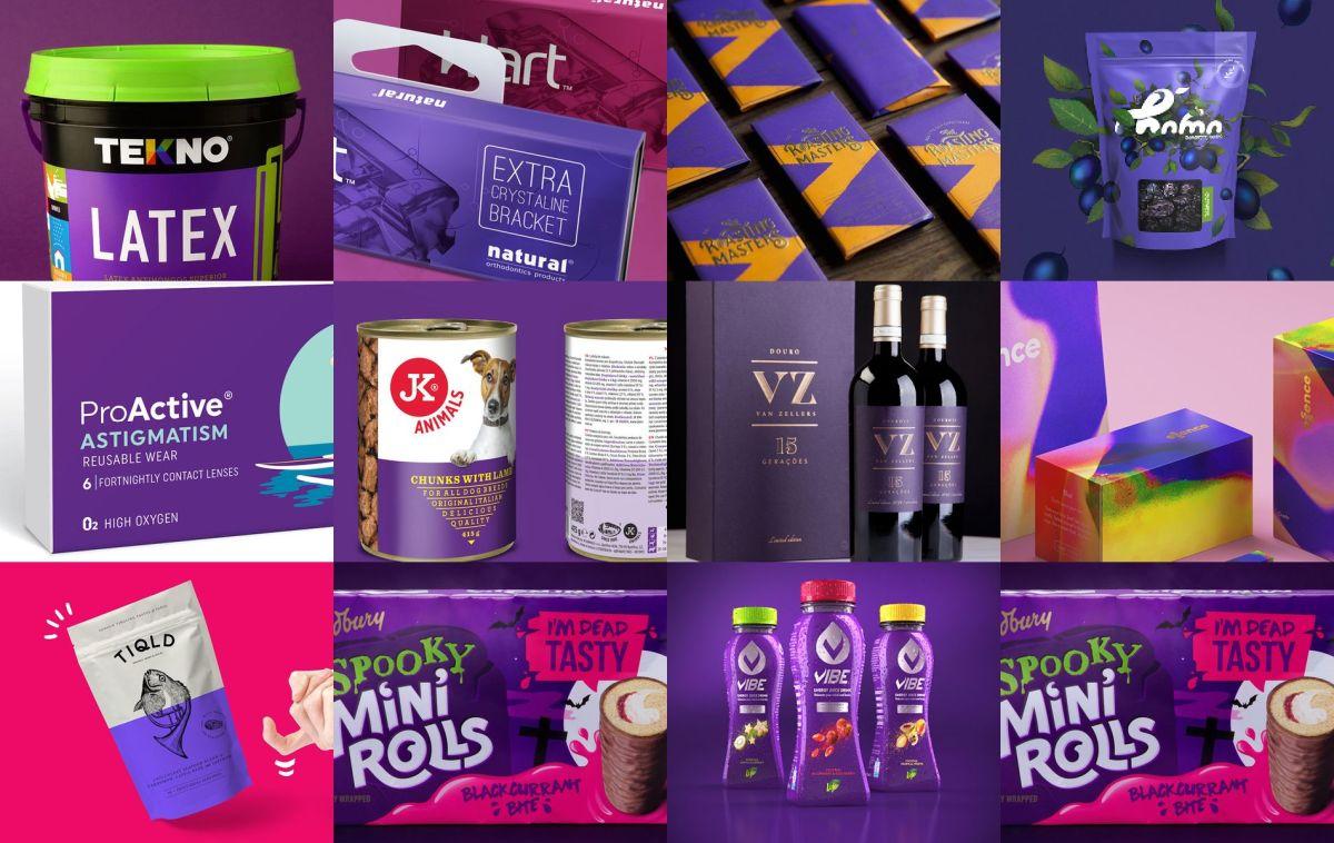 30 packaging realizados con el Pantone del año: Ultraviolet