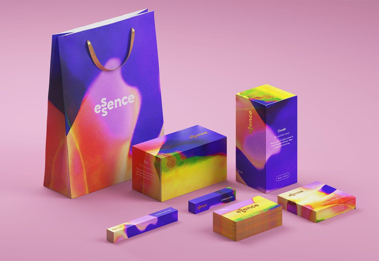 packaging pantone ultraviolet